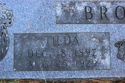 Tilda A. <i>Lawrence</i> Brown