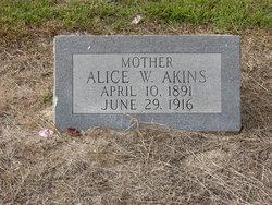 Alice W. Akins