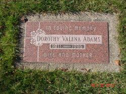 Dorothy Valena <i>Myers</i> Adams
