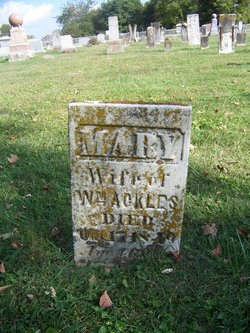 Mary A <i>Long</i> Ackles