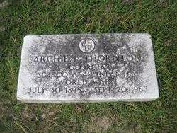 Archie L Thornton