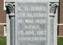 A. O. <i>Uilderks</i> Dirks
