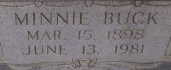 Minnie Lee <i>Buck</i> Benton