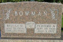 Clifford Nathaniel Bowman