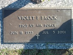 Violet Frances <i>Griffith</i> Brock