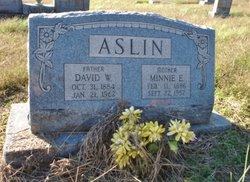 Minnie Eva <i>Harper</i> Aslin