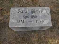 Sarah <i>Pierce</i> Applegate