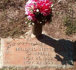 Mildred <i>Nettles</i> Campbell