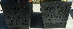 Marsha Jean <i>Matney</i> Anderson
