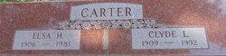 Elsa Anna Henrietta <i>Pflughoeft</i> Carter