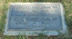 Julia Margaret <i>Stone</i> Fitzsimmons