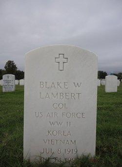 Blake W Lambert