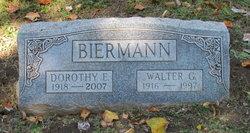 Dorothy Emma Sophie <i>Weber</i> Biermann