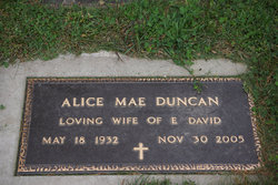 Alice Mae <i>Erickson</i> Duncan
