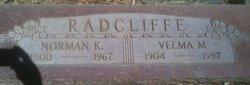 Velma Mary <i>Conlee</i> Radcliffe