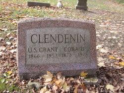 Cora D. <i>Blacksley</i> Clendenin