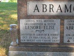 Lenore Elise <i>Epstein</i> Abramoff