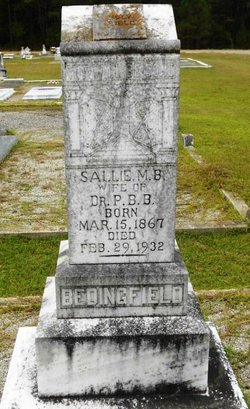 Sallie M. <i>Frost</i> Bedingfield
