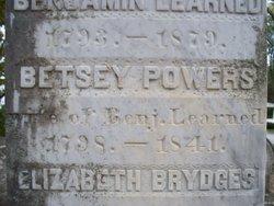 Betsey <i>Powers</i> Learned