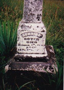 Sedrick Sedie Boyer