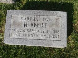 Martha B. <i>Love</i> Herbert