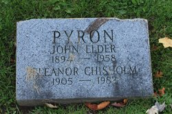 Eleanor <i>Chisholm</i> Pyron
