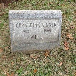 Geraldine <i>Patterson</i> Aigner