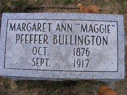 Margaret Ann Maggie <i>Pfeffer</i> Bullington