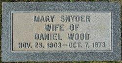 Mary Elizabeth <i>Snyder</i> Wood