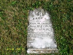 Marietta Mary E. <i>Bargerhoff</i> Snyder