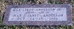 Max Leroy Anderson, Jr