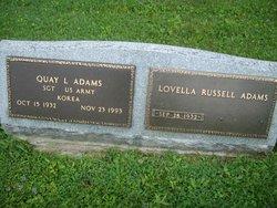Lovella <i>Russell</i> Adams