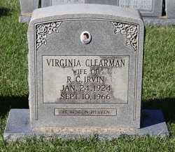 Virginia <i>Clearman</i> Irvin