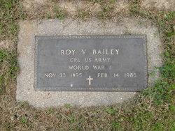 Roy V Bailey