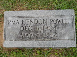 Irma Virginia <i>Hendon</i> Powell