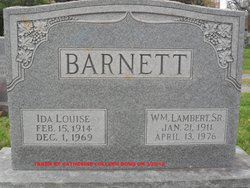 Ida Louise <i>Bond</i> Barnett