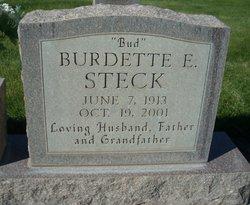 Burdette Erwin Bud Steck