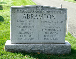 Rev Herman B. Abramson