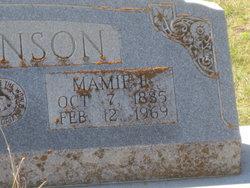 Mary Eliza Mamie <i>Rush</i> Dickinson