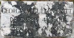 Georgia <i>McCullen</i> Britt