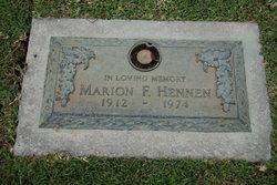 Marion F Hennen