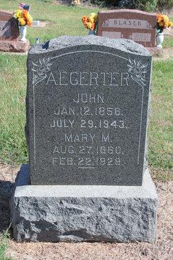 John Aegerter