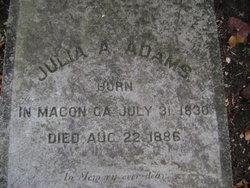 Julia A. <i>Flanders</i> Adams