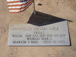 Willis Ervin Vick