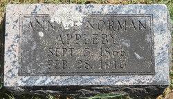 Anna E. <i>Norman</i> Appleby