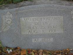 Maude <i>Howard</i> Depew