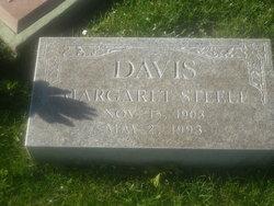 Margaret <i>Steele</i> Davis
