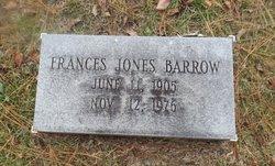 Frances Jones Barrow