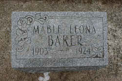 Mable Leona <i>Smith</i> Baker