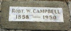 Robert William Campbell
